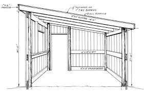 Shed Roof Pole Barn Plans House Living House Plans