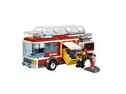 Amazon.com: LEGO City Fire Truck 60002: Toys & Games