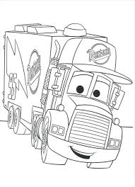 Disney Car Coloring Sheets Cars Pages Free Printable Pdf Download Print For Mack The Truck