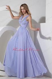 lilac prom maxi dress empire v neck chiffon beading ruched 159 46