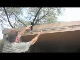 Vinyl Patio Curtains Outdoor by How To Install Our Clear Vinyl Patio Curtains And Enclosures Youtube