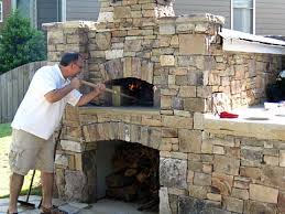 Backyard brick pizza oven large and beautiful photos to