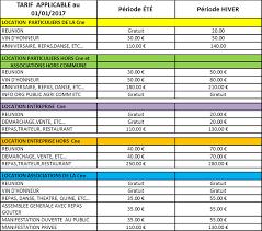 tarif salle des fetes site officiel de la commune de auzits informations municipales