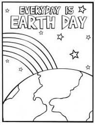 Happy Earth Day Coloring Pages For Preschool This Section Has A Lot Of Kindergarten And Kids Free Printable