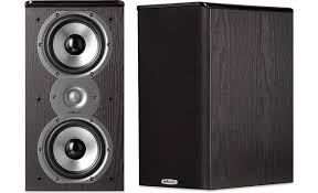 Polk Audio TSi200 Black Bookshelf speakers at Crutchfield