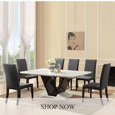 Marble Dining Table White