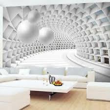fototapete 3d abstrakt vliestapete grau wohnzimmer
