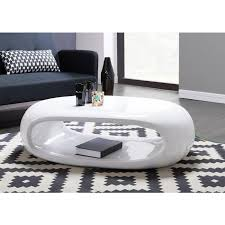table basse laquee blanc on decoration d interieur moderne basse