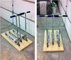 Scooter Stand For The Garage
