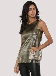 buy new look metallic vest for women women u0027s gold vests u0026 camis