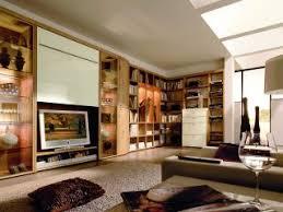 wohnzimmer mit medien und bücherwand bauemotion de