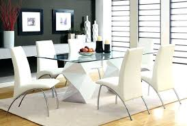 Glass Dining Room Sets Glass Dining Table And Chairs Glass Dining