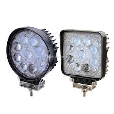 100 Led Work Lights For Trucks 2x 4 Inch 27W 5D Offroad Lamp Truck Boat 12v 24v 4wd