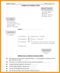 Informal Letter format format Informal 4 Informal Writing 2 Ideas