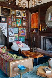Rustic Eclectic Room So Colorful And Cute With Frame Painting For Decoration Living Decor