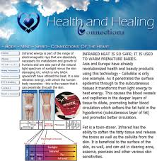 Infrared Lamp Therapy Benefits by Health U0026 Healing Usa The Outstanding Benefits Of Infrared Light