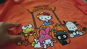 Tanaka Pumpkin Patch Irvine by Tanaka Farms U0026 Hello Kitty Cafe Haul Youtube