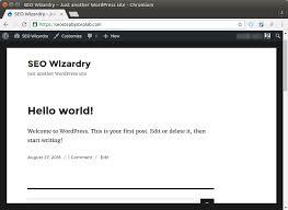 Install Wordpress Lamp Ubuntu 1404 by Install Wordpress 4 6 On Ubuntu 16 04 With Nginx Mariadb And Php7