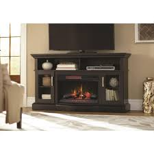 Hawkings Point 595 In Rustic TV Stand Electric Fireplace