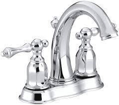 kohler kelston centerset bathroom sink faucet reviews wayfair