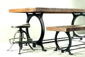 Dining Tables Industrial Modern Table Sets Pertaining To