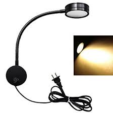 led wall l 5w gooseneck wall mount sconce reading