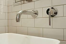 Delta Trinsic Bathroom Faucet Black by Basement Bathroom Reveal