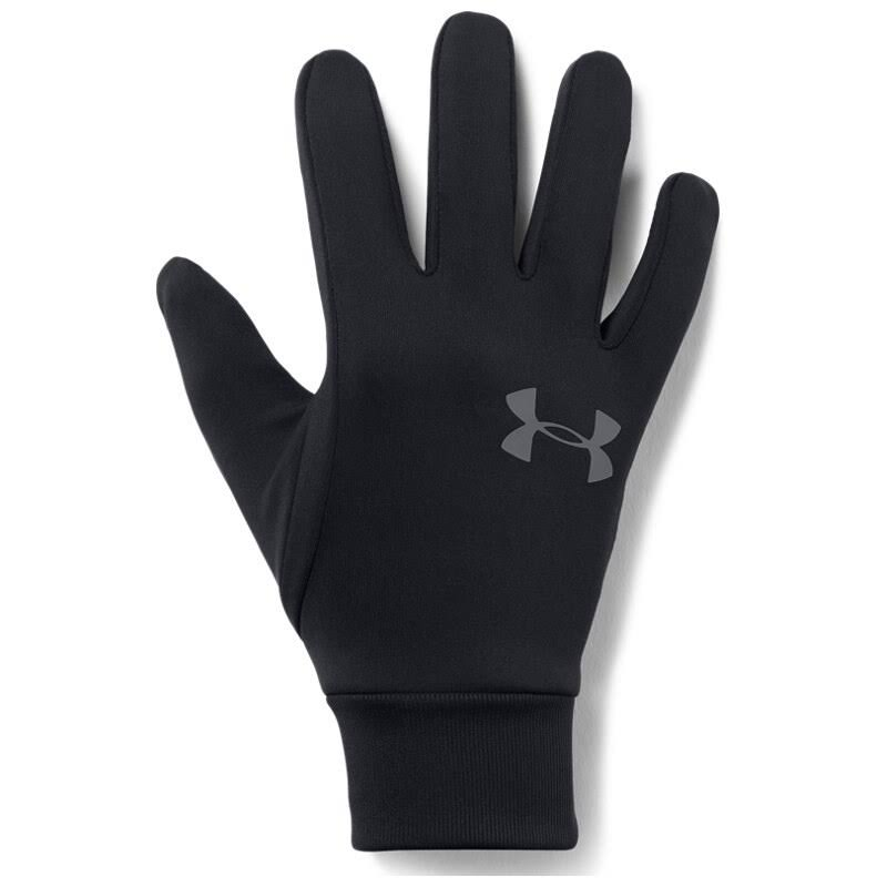 Under Armour Men's Storm Tech Fitted Touchscreen Winter Liner Gloves - Black, X-Large
