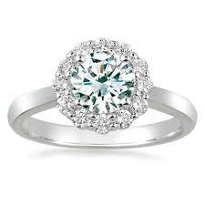 18K White Gold Lotus Flower Diamond Ring from Brilliant Earth