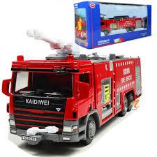 100 Fire Rescue Trucks C5014T KDW 150 Scale Diecast Vehicle Cars Model