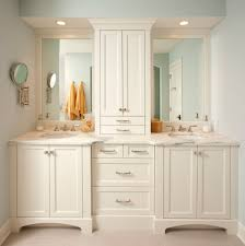 Tall White Shaker Style Bathroom Cabinet Freestanding by Bathroom Vanity Cabinets Traditional U2022 Bathroom Cabinets