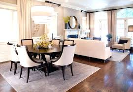 Rug For Round Dining Table Room Ideas Best Area