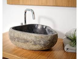 1 naturstein waschbecken aus versteinertem holz 38x35xh15 badmöbel kollektion