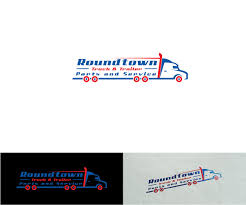100 Truck Parts And Service Elegant Playful Logo Design For Roundtown Trailer And
