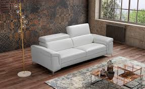 100 Sofas Modern Living Room Sofa In Italian Leather Miami Beach FL