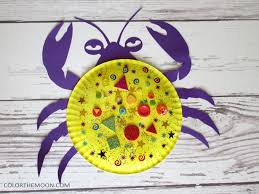 This Moana Paper Plate Craft Tamatoa Crab Is SO FUN And So Easy To Make
