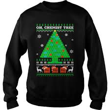 Griswold Christmas Tree by Oh Chemistry Tree Ugly Christmas Sweater Shirt And Hoodie