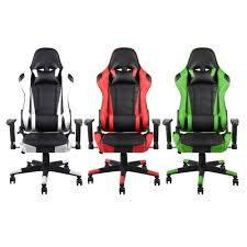 360 Degree Rotation Rolling Wheels Home Office Computer Desk Ergonomic  Height Adjustable Gaming Chair Recliner Racing Chair 5 Best Gaming Chairs For The Serious Gamer Desino Chair Racing Style Home Office Ergonomic Swivel Rolling Computer With Headrest And Adjustable Lumbar Support White Bestmassage Pc Desk Arms Modern For Back Pain 360 Degree Rotation Wheels Height Recliner Budget Rlgear Every Shop Here Details About Seat High Pu Leather Designs Protector Viscologic Liberty Eertainment Video Game Backrest Adjustment Pillows Ewin Flash Xl Size Series Secretlab Are Rolling Out Their 20 Gaming Chairs