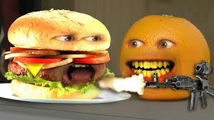 Sofa King Juicy Burger by Annoying Orange Monster Burger Youtube