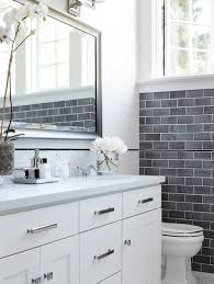 grey subway tile wainscoting grey subway tile wainscoting pops