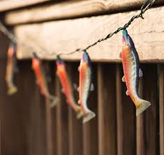 Trout Outdoor String Lights