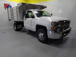100 Regular Cab Truck 2019 New Chevrolet Silverado 3500HD 4WD Dump Body Work
