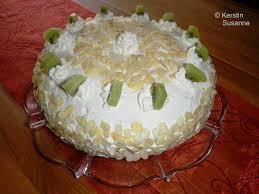 kiwi sahne torte