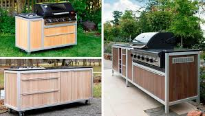 outdoorküche immobil mobil und modular