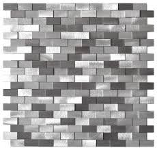 3d raised brick aluminum mosaic tile contemporary mosaic tile