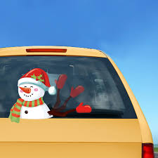Snowman Christmas Wiper Decals Car Decorations Reusable PVC Rear ... Decals For Cars And Trucks 11 Best Images About Windshield On Car Visor Decal Sticker Graphic Window How To Apply A Sun Strip Etc Youtube Supplies Creative Hot Charm Handmade 2017 New Laser Reflective Letters Auto Front Dodge Challenger Graphicsstripesdecals Streetgrafx Product Gmc Truck Motsports Windshield Topper Window Decal Sticker Dirty Stickers Amazoncom Dabbledown Like My Ex Buy 60 Supergirl V4 Powergirl Girl Dc Comics Logo Printed Yee 36 Granger Smith Store Quotes Quotesgram