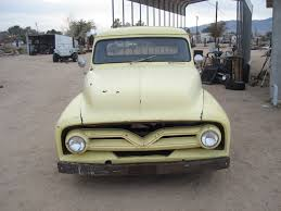 100 55 Ford Truck For Sale F100 Rat Rod Hot Rod Project Pickup Used F