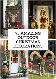 95 amazing outdoor christmas decorations christmas pinterest