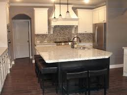 Kitchen Makeovers Hardwood Floor And Cabinet Combinations Dark Green Cabinets White With Black