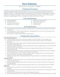 Resume Templates Travel Agent